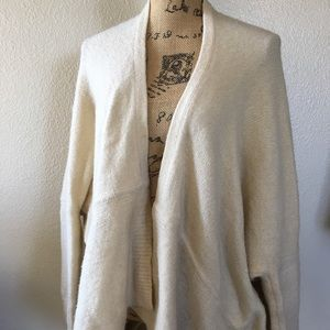 Sleeping on Snow Mohair blend Batwing Cardigan